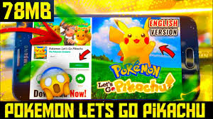 Pokemon Let's Go Pikachu Download Apk + OBB For Android