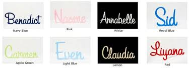 6 letter name stix and stones baby wooden scripted name plaque for kids large