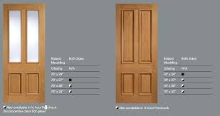 4 panel moulded doors standard size internal uk white with glass