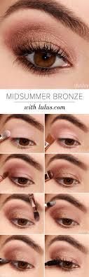 lulus how to midsummer bronze eyeshadow tutorial with sigma