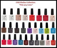 cnd sac uv nail polish color collection set 0 25oz pick up any color part