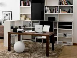 office in living room. living roomhome office in the room with small space home t