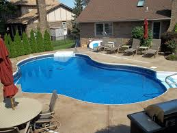 Appealing Inground Swimming Pools For Small Backyards Pictures Inspiration