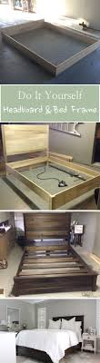 diy headboard bed frame