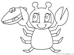 Colouring Pages Animals Sea Animal Coloring Pages For Toddlers