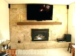 s wood beam fireplace mantel reclaimed