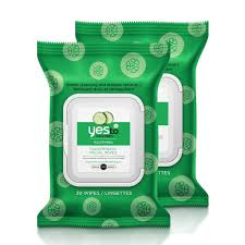 yes to cubers soothing hypoallergenic wipes