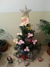 Paper Flower Christmas Tree Christmas Tree With Paper Flowers Steemit