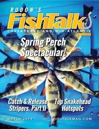 Mozingo Lake Depth Chart Fishtalk Magazine March 2019 By Spinsheet Publishing Company