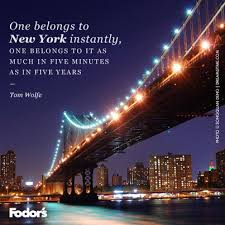 New York Quotes Beauteous Travel Quote Of The Week On New York City Fodors Travel Guide