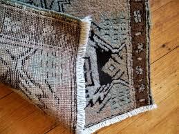 vintage native american wool area rug