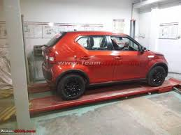 new car launches in januaryUpcoming Maruti Ignis Top end variant snapped ahead of its launch
