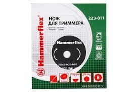 <b>Нож для триммера Hammer</b> Flex 223-011 закаленная сталь ...