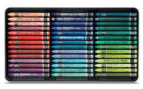 Box Of 84 Neocolor Ii Pastels