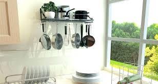 pot and pan hanging rack wall pot hanger pot and pan organizer rack kitchen wall pot