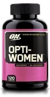 optimum nutrition opti women nutrient optimization system 120 capsules