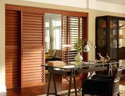 sliding doors plantation shutters into blinds regarding for design architecture glass horizontal window sh