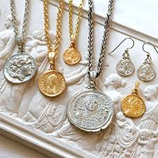 ancient coin jewelry