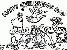 Small Picture Childrens Day Coloring Pages Coloring Coloring Pages