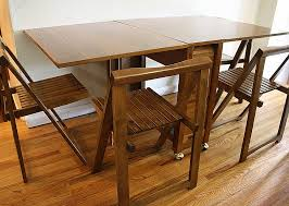 classy design wall mounted dining table ideas 88