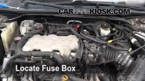 blown fuse check 2000 2005 chevrolet impala 2001 chevrolet replace a fuse 2000 2005 chevrolet impala