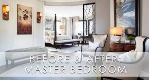 home office in master bedroom. Hamptons Inspired Luxury Master Bedroom Before And After Home Office In L