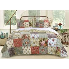 Greenland Home Fashions Blooming Prairie 3-piece Bedspread Set - On Sale -  Overstock - 4348151