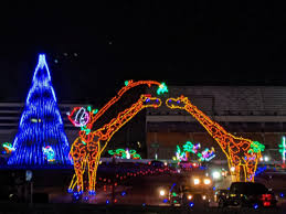 Where To See Christmas Lights In Charlotte Nc Christmas Lights At Charlotte Motor Speedway Video Tour 2019