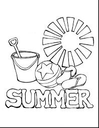 Summer Fun Coloring Pages Diywordpressme
