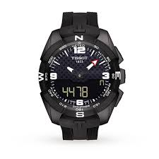 tissot t touch solar mens watch mens watches watches goldsmiths tissot t touch solar mens watch