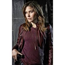 jacket sophiabushleatherjacket erinlindsay sophiabush tvseries chicagopd fashion style cosplay maroonjacket leather jacket ootd womenswear