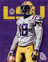Lsu Feti Certification Chart 2018 Lsu Football Media Guide By Lsu Athletics Issuu