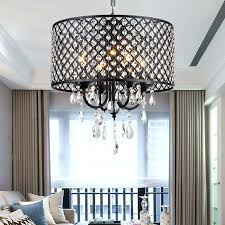 4 light chrome crystal chandelier new galaxy lighting 4 light chrome round metal shade crystal chandelier