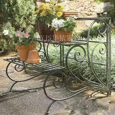 Nice Outdoor Flower Pot Stands Aliexpress.com : Buy Iron Flower Stand  Balcony Flower Ladder