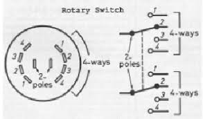 4 way switch schematic symbol wiring diagram schematics types of switch basics and tutorials basic electronics projects