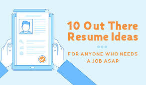 Creative Resume Ideas Cool 28 Creative Resume Ideas For Anyone Who Needs A Job ASAP Creative