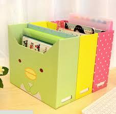 creative of paper file organizer aliexpress diy desktop storage box lid dust thicker