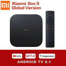 Xiaomi Mi Box S Series 4K Ultra HD Global Version