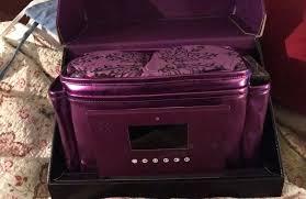 younique new 2017 purple presenter bag trunk
