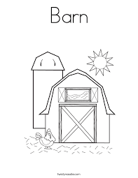 Barn Free Coloring Pages On Art Coloring Pages
