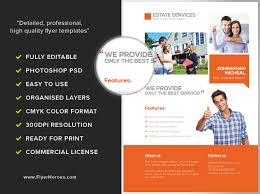 Services Flyer Real Estate Services Flyer Template Flyerheroes
