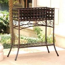 wrought iron plant stands outdoor wrought iron plant stands outdoor rectangular plant stands international caravan rustic iron rectangular plant stand
