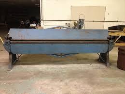used sheet metal brake. used chicago 10\u0027 x 16 gauge sheet metal brake used sheet metal brake e