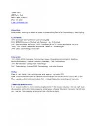 Hair Stylist Resume Cover Letter Hair Stylist Resume Examples staruptalent 52