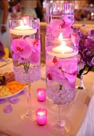 glass centerpieces ideas glass candle centerpiece floating candles in glass vases the bright ideas blog round