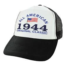 dels about 75th birthday gifts all american 1949 original clic 75 birthday trucker hat