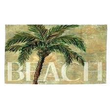 palm tree rugs area rug beach green sand round