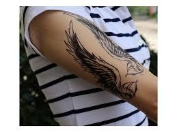 Voděodolné Dočasné Tetování Motiv Andělská Křídla Bižuterie Top Cz