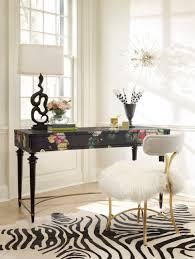 Living Room Furniture Northern Va Cynthia Rowley For Hooker Furniture Fleur De Glee Writing Desk