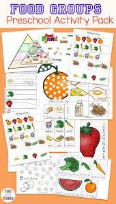 Food Groups Preschool Activity Pack Group Meals Preschool